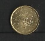 monedas de Europa - España -  Cervantes / Error / (nº1)