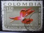 Sellos de America - Colombia -  VII Conferencia Mundial de Orquideología en Medellín -1972-