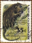 Stamps America - Dominican Republic -  Selenodonte