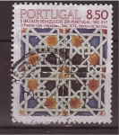 Stamps Portugal -  serie- azulejos