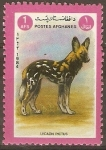 Stamps : Asia : Afghanistan :  PERRO  DE  CAZA
