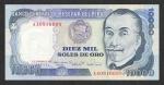 monedas de America - Perú -  10000 SOLES DE ORO BANCO CENTRAL DE RESERVA DEL PERU