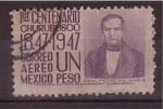 Stamps Mexico -  1º centenario