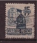 Stamps Mexico -  Correo postal