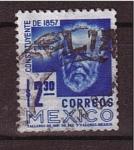 Sellos de America - México -  Constituyente de 1857