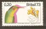 Stamps Brazil -  CLYTOLAEMA  RUBRICALDA