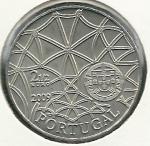 monedas de Europa - Portugal -  Monasterio de los Jerónimos-Anverso