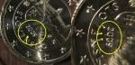 monedas del Mundo : Europa : Eslovaquia :  Eslovaquia error exceso de metal