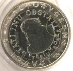monedas del Mundo : Europa : Eslovenia :  Eslovenia error 1€ s/c