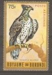 Stamps Burundi -  POLEMAETUS  BELLICOSUS