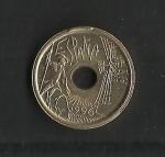 monedas de Europa - España -  Variante de cuño
