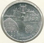 monedas de Europa - Portugal -  Monasterio de Batalla-Reverso