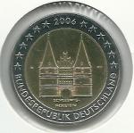 monedas de Europa - Alemania -  Schleswig-Holstein (Lübek)