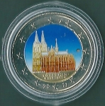 monedas de Europa - Alemania -  Renania N.-Westfalia (Catedral de Colonia)