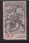 Stamps Czechoslovakia -  trobador
