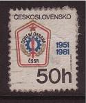 Stamps Czechoslovakia -  Obra civil