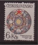 Sellos de Europa - Checoslovaquia -  Academia Ved