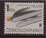 Stamps Czechoslovakia -  harrachov 1983