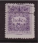 Sellos de Europa - Checoslovaquia -  correo postal