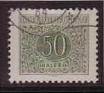 Stamps Czechoslovakia -  halerú