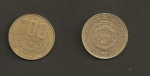 monedas de America - Costa Rica -  100 colones