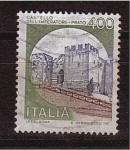 Stamps Italy -  serie- castillos