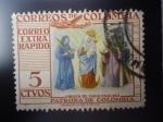 Stamps Colombia -  Virgen de CHiquinquirá, Patrona de Colombia