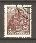 Stamps Germany -  DDR