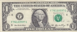 monedas del Mundo : America : Estados_Unidos :  BILLETE DE USA.  DOLAR- G.WASHINGTON