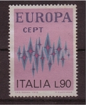 Stamps Italy -  serie- europa