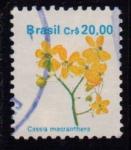 Sellos del Mundo : America : Brasil : Flores
