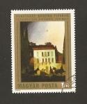 Stamps Hungary -  Viaje en carruaje por Atenas a luz de la luna