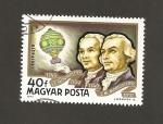 Sellos de Europa - Hungría -  Hermanos Montgolfier y globo