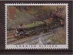 Stamps United Kingdom -  serie- trenes famosos