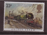 Stamps United Kingdom -  serie- Trenes famosos