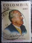 Sellos del Mundo : America : Colombia : Presidente: Guillermo León Valencia Muñoz 1909-1971