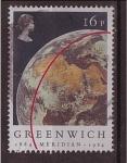 Stamps United Kingdom -  Centenario Greenwich
