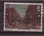 Stamps United Kingdom -  jersey