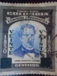Stamps Colombia -  Comisión Corográfica 1850-1950- José Jerónimo Triana