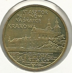 monedas del Mundo : Europa : Polonia :  Cracovia-Anverso