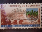 Stamps Colombia -  Valle del Cauca 1910-1960