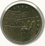 monedas del Mundo : Europa : Polonia :  Solidarnosc-Anverso