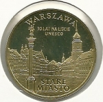 monedas del Mundo : Europa : Polonia :  Warszawa-Anverso