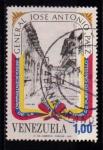 Sellos de America - Venezuela -  General José A. Paez