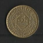 monedas de Africa - Marruecos -  Empire Cherifien / 1365 / Mohamed V.