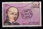 Sellos del Mundo : America : Cuba : 150 aniv. sello
