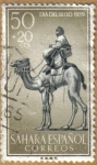 Stamps Europe - Spain -  SAHARA - Beduino y Camello