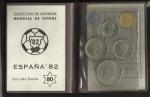 monedas de Europa - España -  Cartera Mundial 82