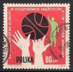 Sellos del Mundo : Europa : Polonia :  Baloncesto