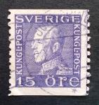 Stamps Europe - Sweden -  Rey Gustavo V